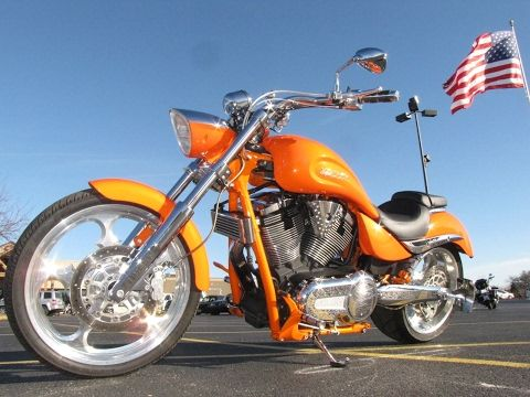2007 Used VICTORY MOTORCYCLES NESS JACKPOT NESS JACKPOT at Used Motorcycle Store Serving Chicago, Naperville, & Rockford, IL, IID 16101208