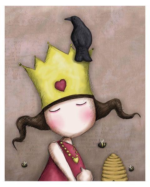 suzanne woolcott met kroon