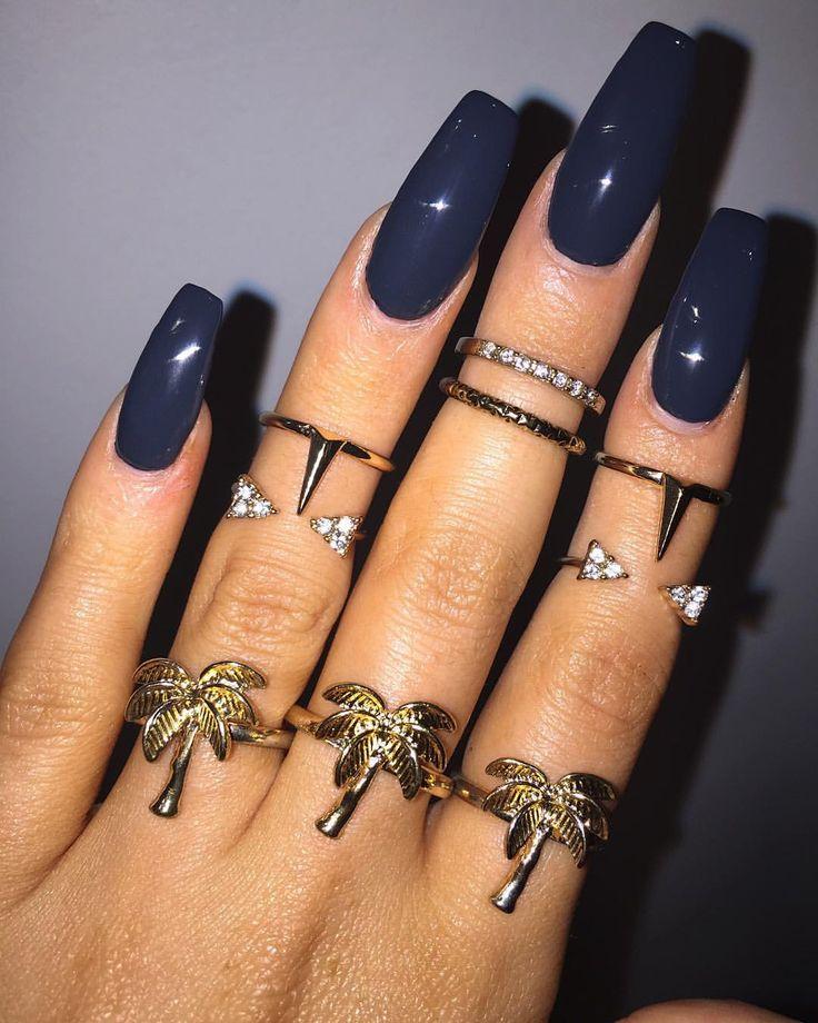 fall acrylic nails ideas