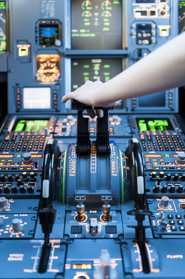 Airplane Throttle Levers : Best images about airbus a on