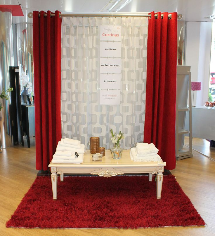 17 best images about cortinas on pinterest decor finals - Cortinas con ollaos ...