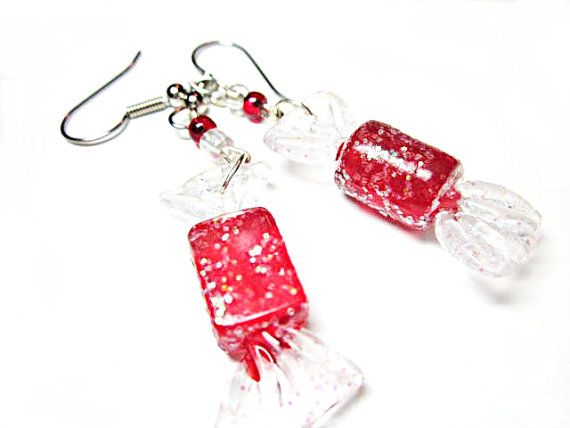 Wrapped Candy Earring  Sugar Sparkle  On