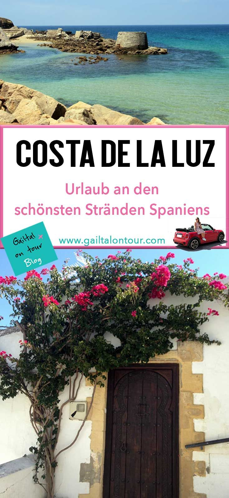 #Urlaub an der Costa de la #Luz. Unterwegs mit dem #Mietwagen an den schönsten Stränden Spaniens und den weißen Dörfern von #Andalusien