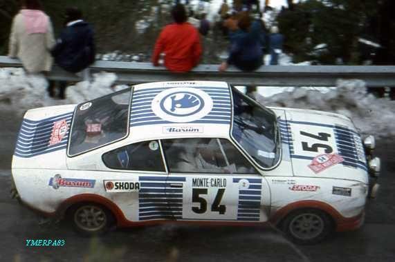 Monte Carlo 1977 (Kvaizar-Kotek) Skoda 130RS