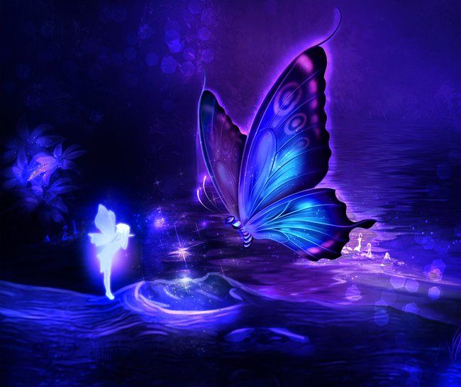 Pixie Butterfly Art Print By Claudia Digital Graphics X Small Purple Butterfly Wallpaper Butterfly Art Print Butterfly Wallpaper Backgrounds