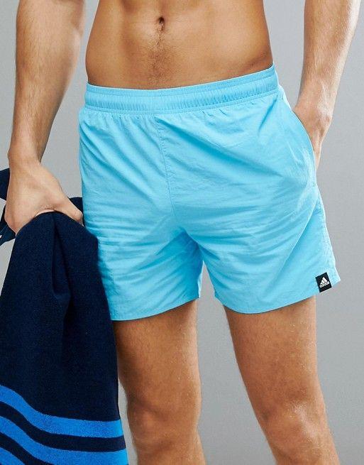 a0bba4accbe Adidas swim shorts in blue cv5130 in 2019 | Mens Fashion | Calvin ...