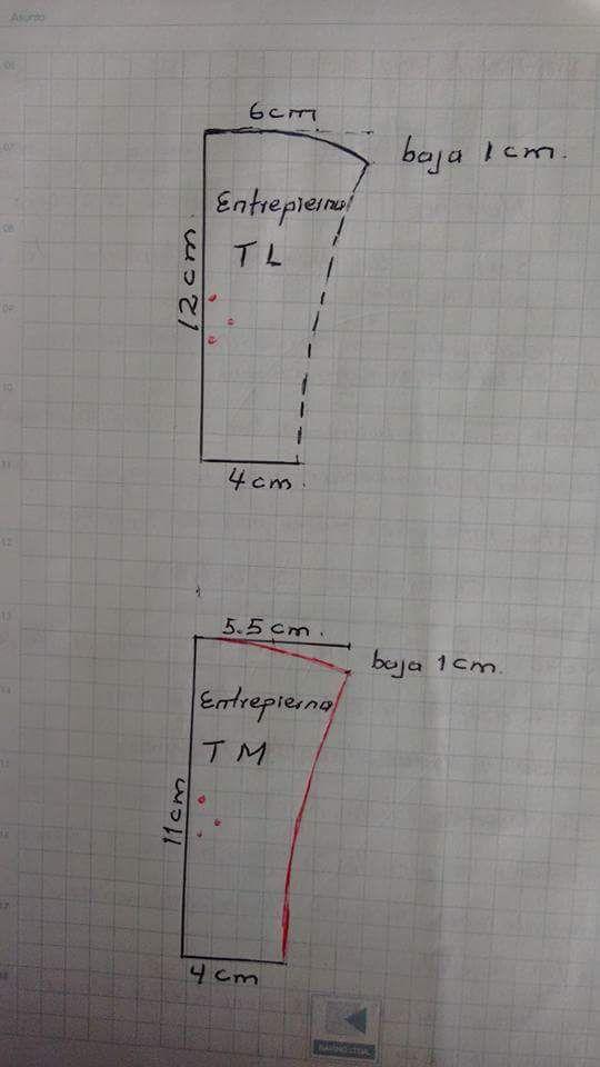 Panty (entrepierna talla L y M)
