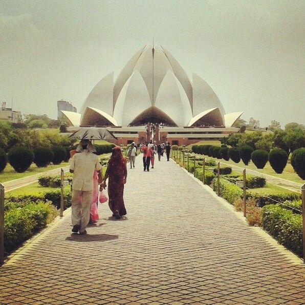 Lotus temple....«» INDIA