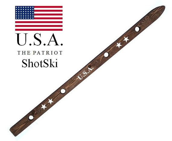 ShotSki shot ski USA 4th of July Edition Take 4 by ShotSkiShop