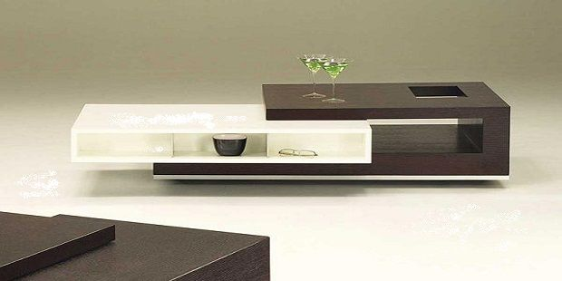 Two in One Contemporary Coffee Table