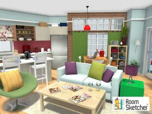 The Big Bang Theory Apartments in 3D