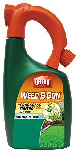 Ortho Weed B Gon MAX Weed Killer for Lawns Plus Crabgrass Control Ready-Spray Hose End Attachment, 32-Ounce (Not Sold in HI, NY)