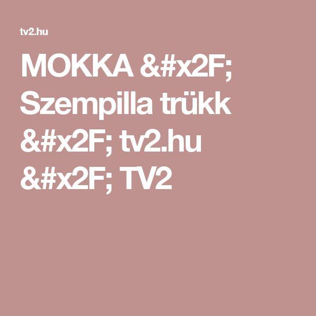 MOKKA / Szempilla trükk / tv2.hu / TV2
