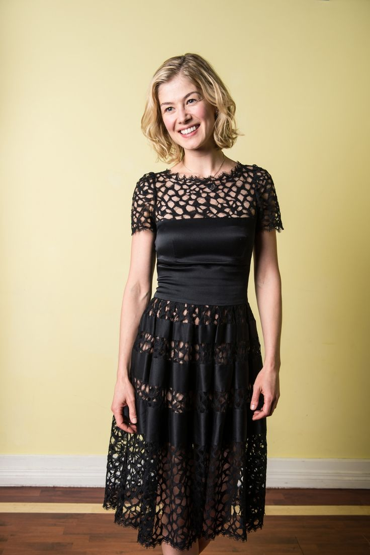 Rosamund Pike - Hector and The Search For Happiness Promoshoot 2014