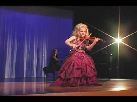 incredible 7year old child violinist brianna kahane