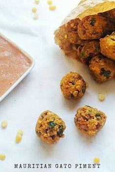 Mauritian Chilli Cakes - Mauritian Gato Piments www.peachytales.com @peachytales #mauritianfood #mauritius #chillicakes