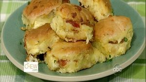 Bacon Egg Cheese Biscuit Casserole Recipe The Chew - Clinton Kelly http://abc.go.com/shows/the-chew/recipes/bacon-egg-and-cheese-biscuit-casserole-clinton-kelly-2017
