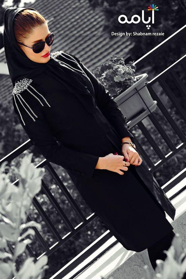 Manto persian style tehran girls wear