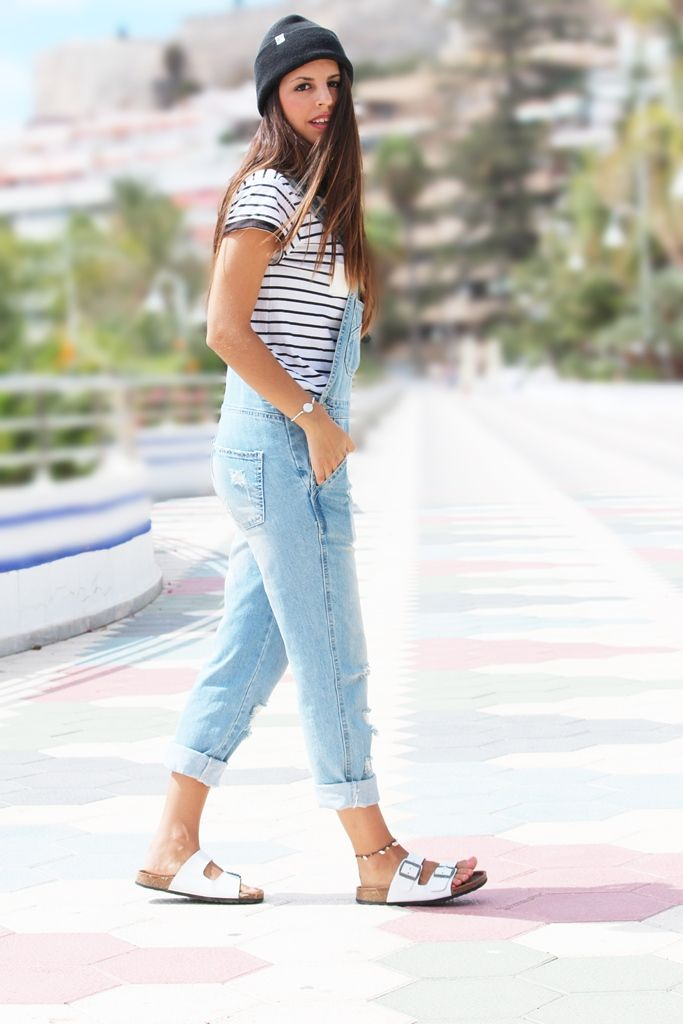 Outfit con peto vaquero más fotos en www.gadorvision.com #Outfit #Ootd #Moda #Style #PetoVaquero #Summer #Fashion