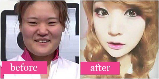 Setelah para netizen menanggapi wajah gadis Jepang tanpa makeup yang membuat shock pacarnya, berita hampir sama datang dari Korea Selatan. Di negara yang terkenal dengan hasil operasi super cantik, ternyata tak semua wanitanya melakukan bedah plastik. Beberapa hanya memakai makeup dan hasil perubahannya luar biasa.