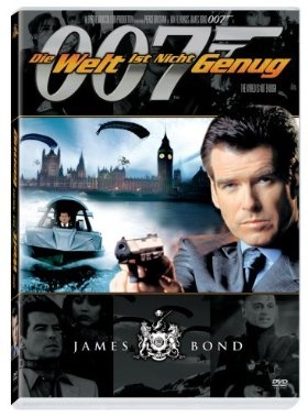 James Bond 007: Die Welt ist nicht genug  1999 UK,USA      Jetzt bei Amazon Kaufen Jetzt als Blu-ray oder DVD bei Amazon.de bestellen  IMDB Rating 6,3 (99.064)  Darsteller: Pierce Brosnan, Sophie Marceau, Robert Carlyle, Denise Richards, Robbie Coltrane,  Genre: Action, Adventure, Crime,  FSK: 12