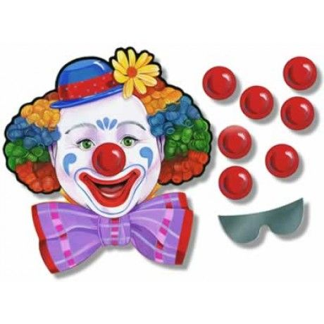 Circus Clown Game for $1.43 in Games & Activities - Carnival