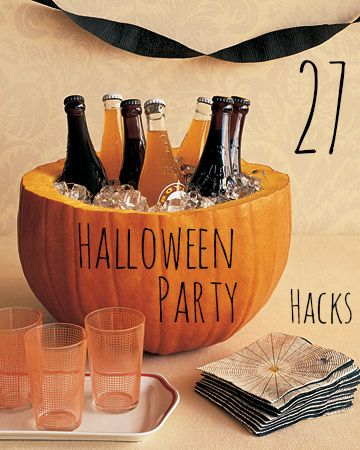 27 Incredibly Easy Ways To Upgrade Any Halloween Party - I really like the trick or treat bingo idea! Finally something for those of us who stay home with no party...