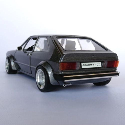 1 18 vw scirocco mk1 gti one off group 2 wide body bbs. Black Bedroom Furniture Sets. Home Design Ideas