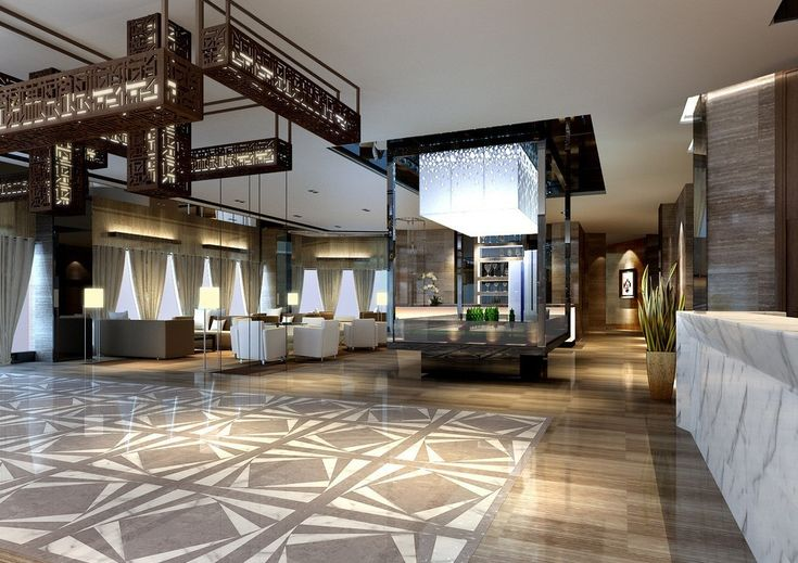 Fashion contracted hotel lobby design hd wallpapers for Design hotel group
