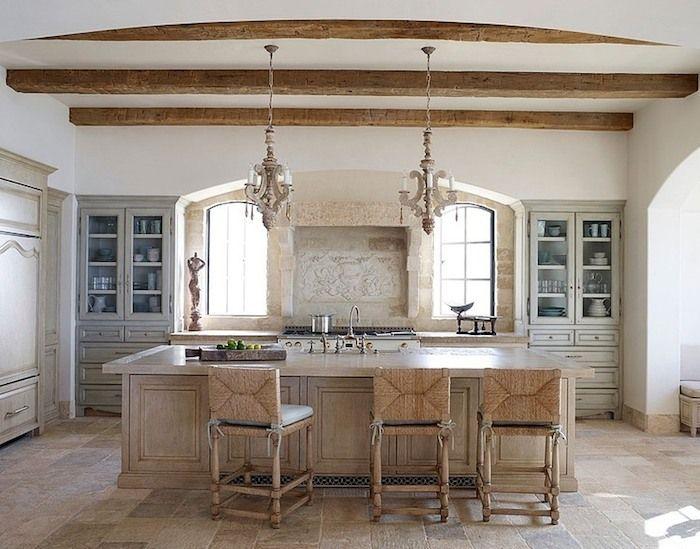 provence style beach house kitchen designskitchen - Beach House Kitchen Ideas
