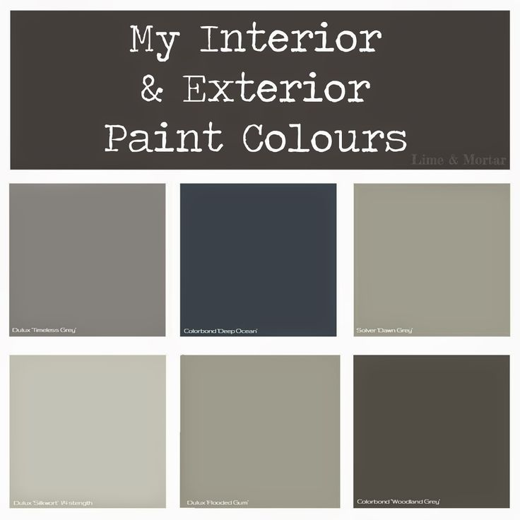 Lime & Mortar: My Paint Colours
