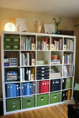 Prairie Home Therapy: How to Make the Shelves Look Good (for mom's binders & genealogy books)