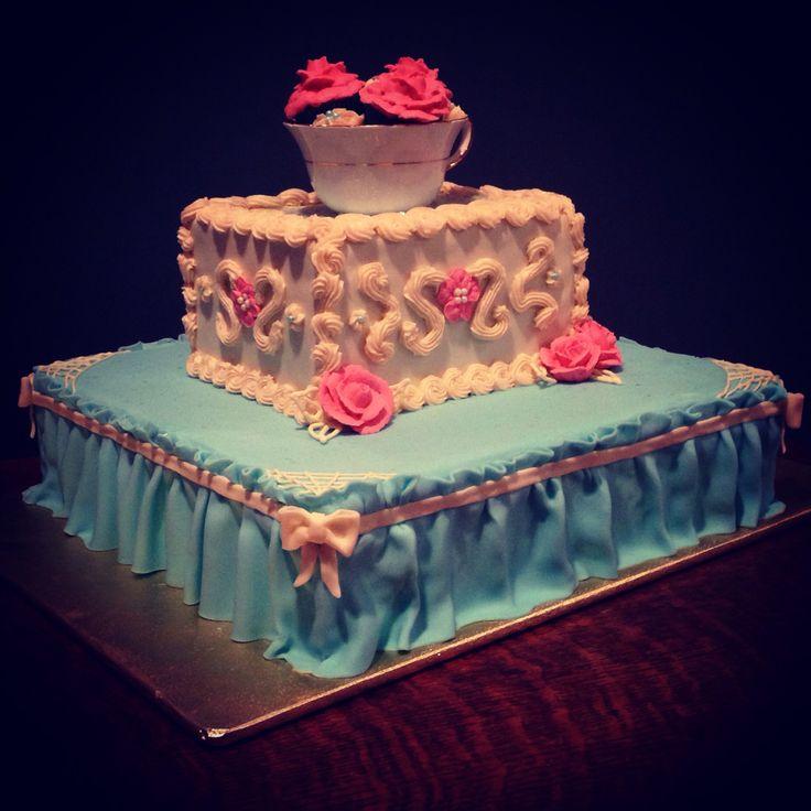Modern Victorian cake