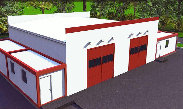 Пожарное депо Семей, пожарное депо, модульное пожарное депо Семей, в семее, депо