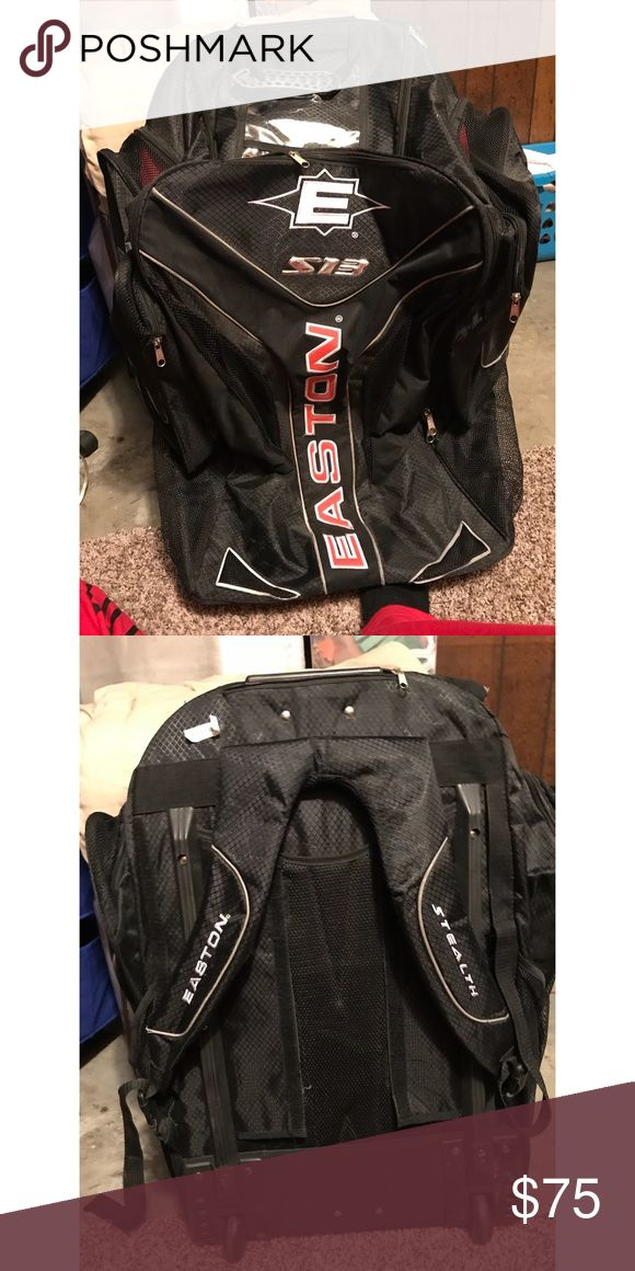 Easton hockey equipment bag Easton hockey rolling and backpack style bag. Works great. Very big. Only used for one year Bags Backpacks