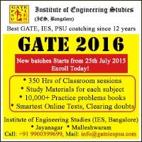 Top gate coaching institutes in bangalore dating