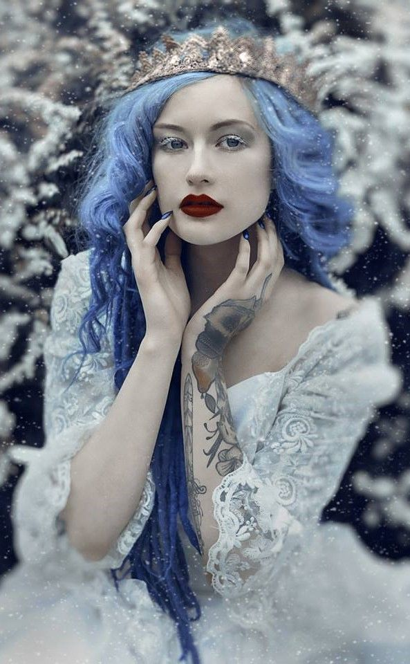 Character Inspiration Blue Astrid