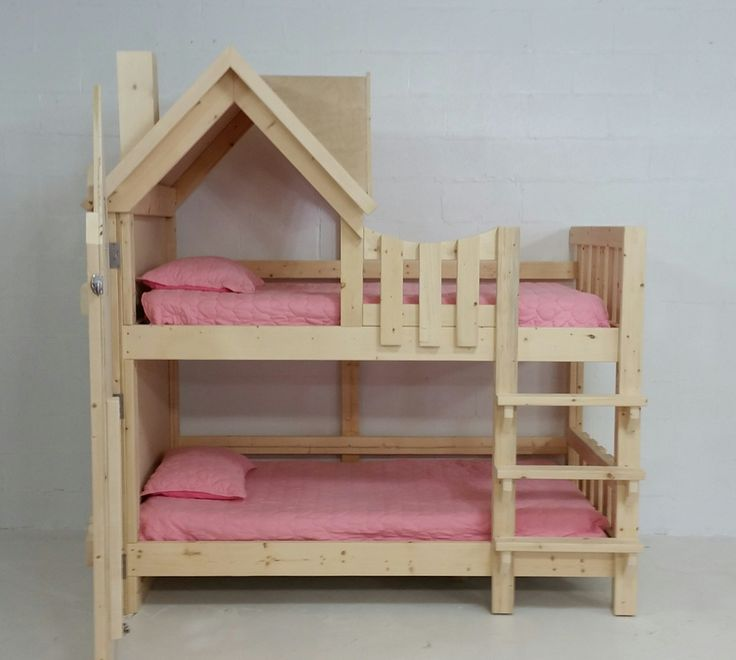 17 best ideas about bunk beds for girls on pinterest for Bunk bedroom ideas for girls