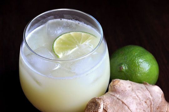 West African Ginger Drink — very refreshing for summer