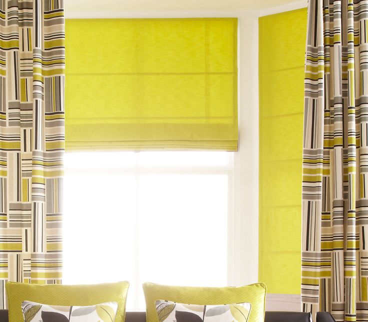 Bright and contemporary these iLiv Radiance roman blinds come from the Fjord collection and would bring a Scandinavian feel to your living space! Perfect for spring coming up!