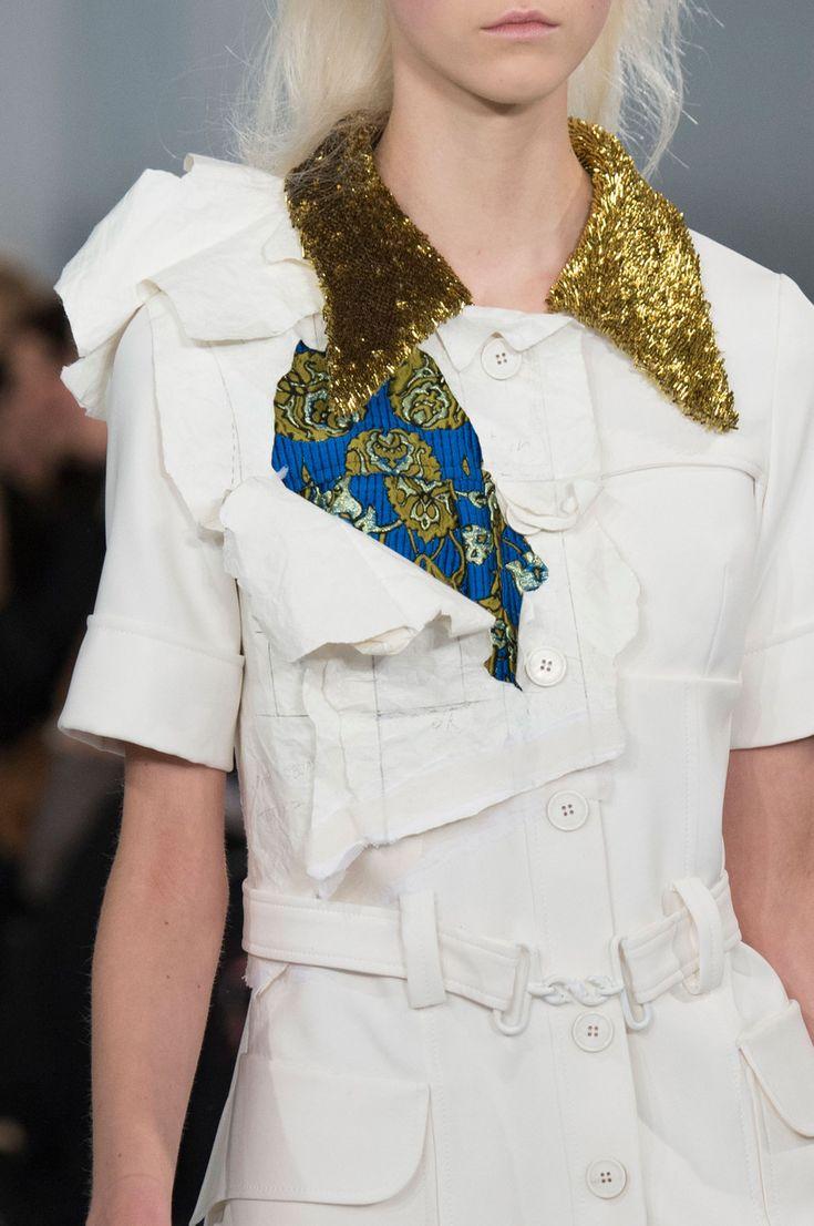 John Galliano for Maison Margiela SS 2016 Artisanal Look 2,Model-Julie Hoomans