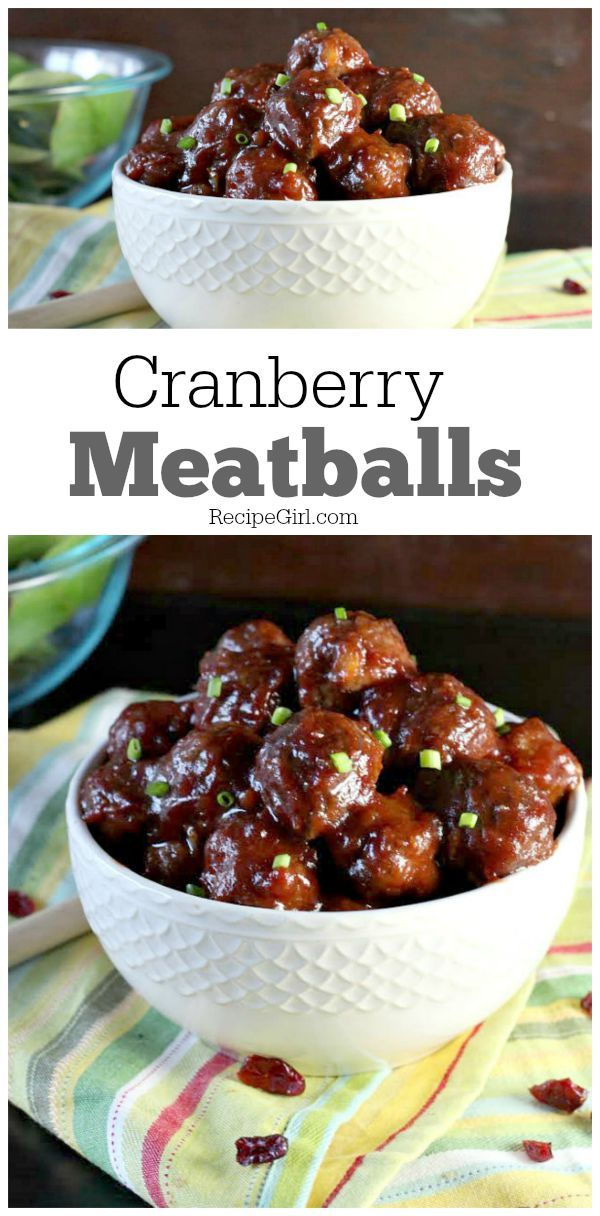 Easy Cranberry Meatballs Appetizer Recipe