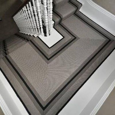 Hartley and Tissier stair carpet