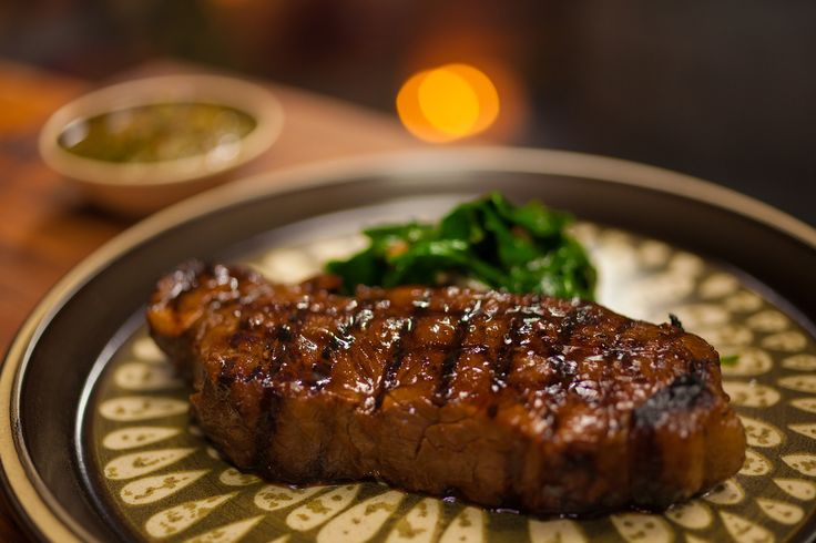 Dragons Breath Grilled Beef with Blanchan Spinach: http://gustotv.com/recipes/lunch/dragons-breath-grilled-beef-blanchan-spinach/