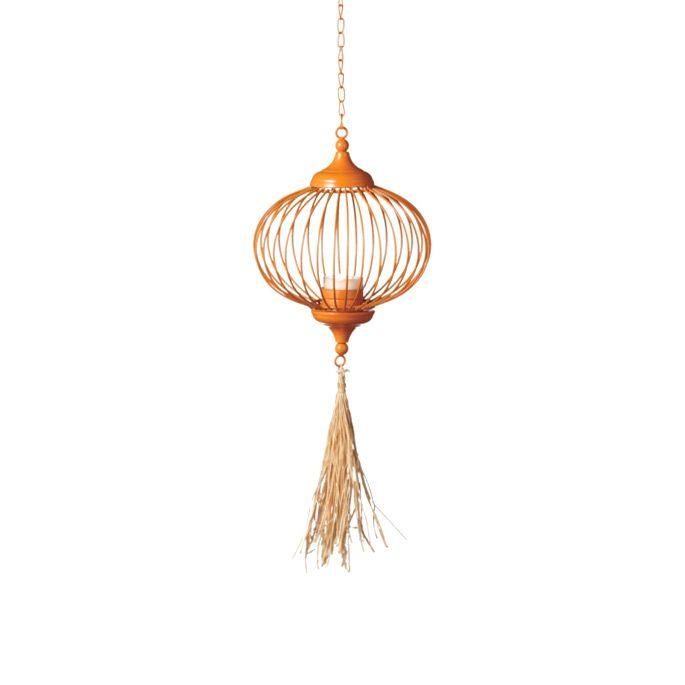 Tassel Tealight Lantern | dotandbo.com