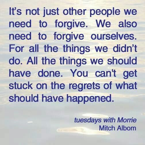 www.therestingtraveller.com  Every person should read this book! Tuesdays With Morrie