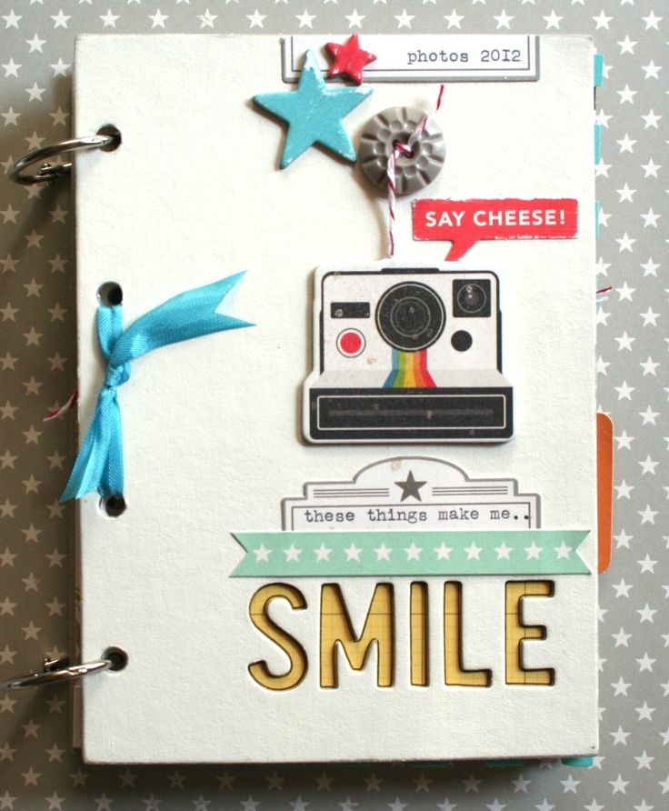 A super CUTE Mini-Album for random photos!! ♥ - by Nicole Harper for October Afternoon