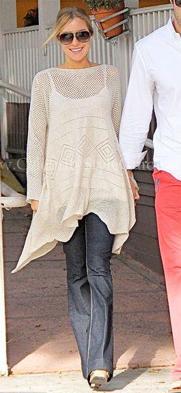Kristin Cavallari Cribs Kim Kardashian's Pregnancy Style ...
