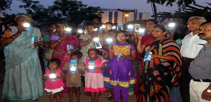 MSI Distributes Solar Lights To Slum Dwellers - The Hans India