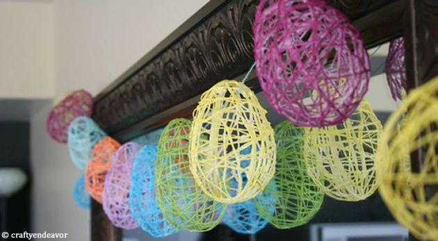 Comment réaliser des boules de ficelle pour sa décoration, et  en utilisant de la colle faite maison ?